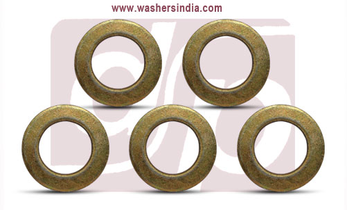 din standard steel washers - flat washers - plain washers manufacturers exporters suppliers in india punjab ludhiana
