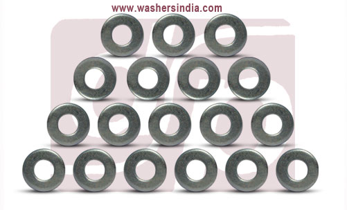 mild steel washers - flat washers - plain washers manufacturers exporters suppliers in india punjab ludhiana
